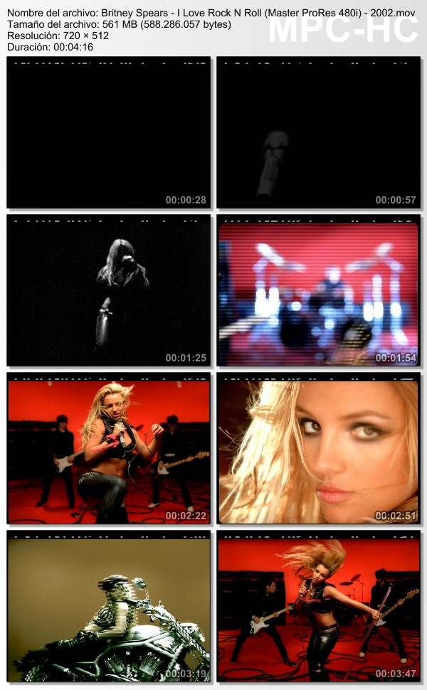 Britney Spears – Music Vid Collector