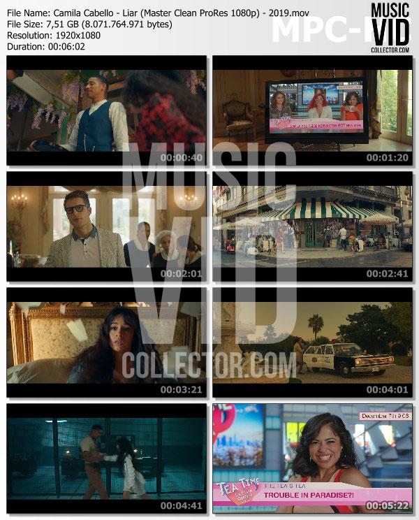 Camila Cabello Liar: Liar (Master Clean ProRes 1080p)