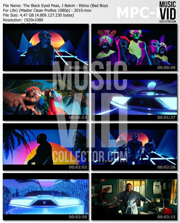 The Black Eyed Peas J Balvin Ritmo Bad Boys For Life: Music Vid Collector